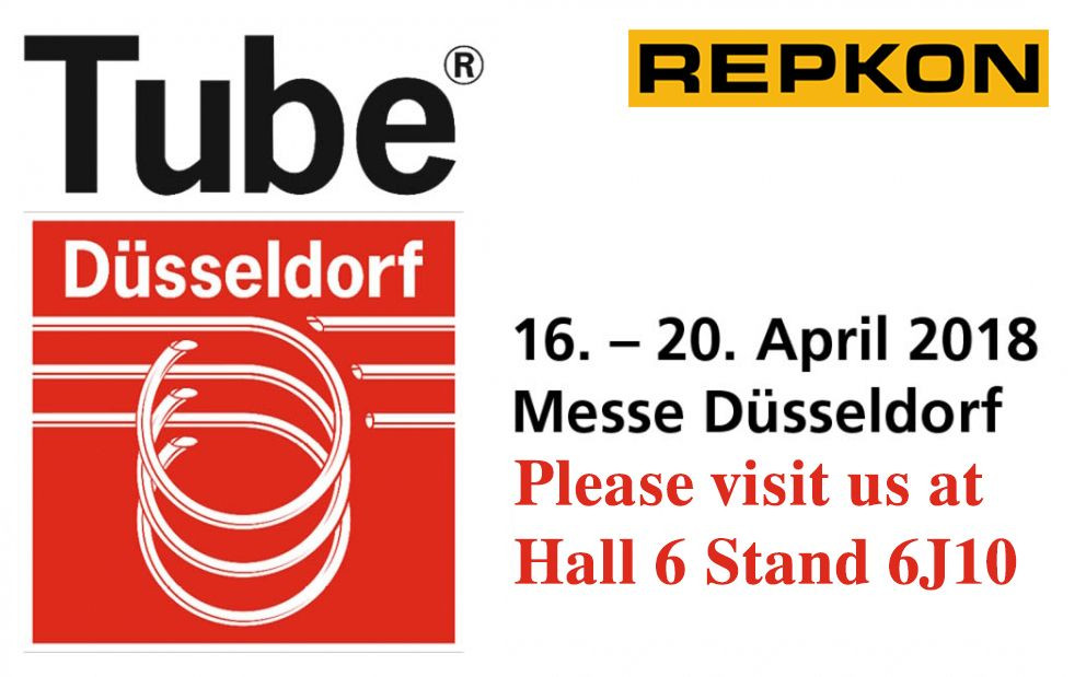 Repkon is participating in Tube Düsseldorf Exhibition
