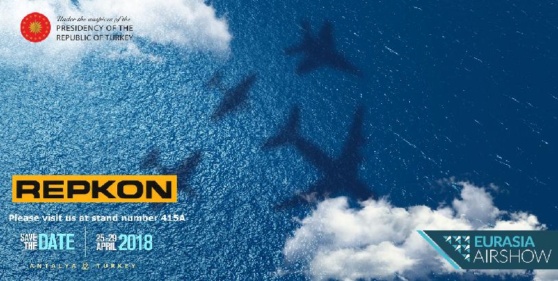 Eurasia Airshow fuarına katılım gerçekleştiriyoruz
