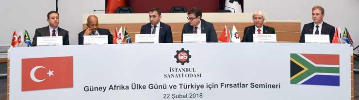 REPKON, İstanbul Sanayi Odası'nın (İSO) düzenlediği Güney Afrika Ülke Gününe katılım sağladı.